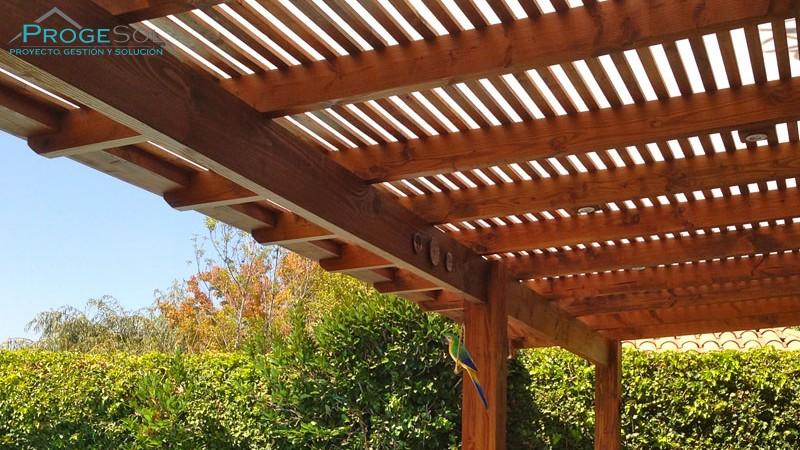 Techos de madera techos las palmas - Techos terrazas ...
